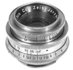 50/2.8 Prewar Zeiss Tessar